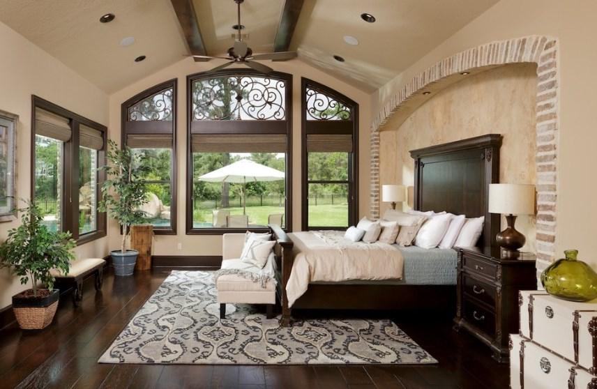 arched kitchen window trim ideas