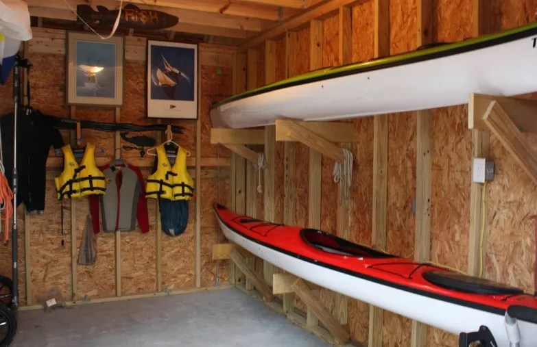 21 Smart Kayak Storage Ideas Stand Rack To Keep Your Beloved Tools