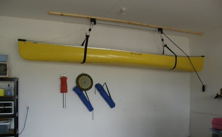 outdoor kayak storage ideas