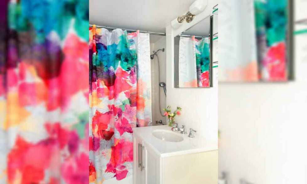 shower curtain ideas bathroom