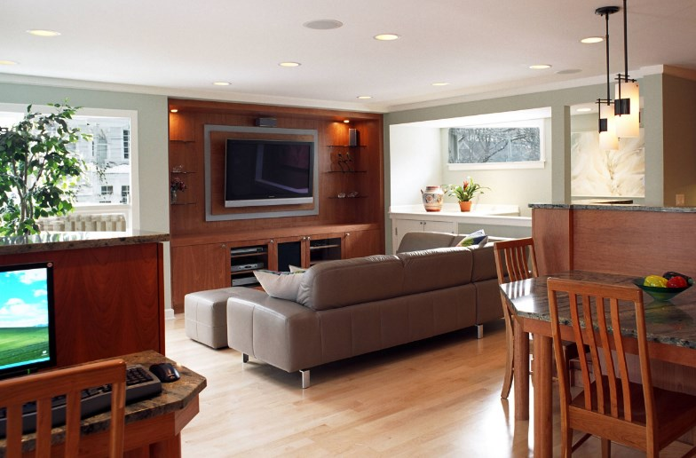 how to build a entertainment center