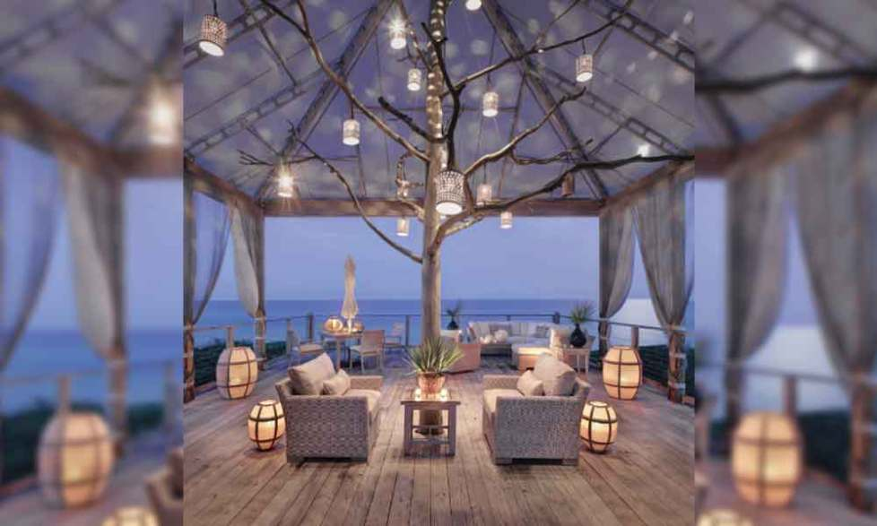 wood deck lighting ideas