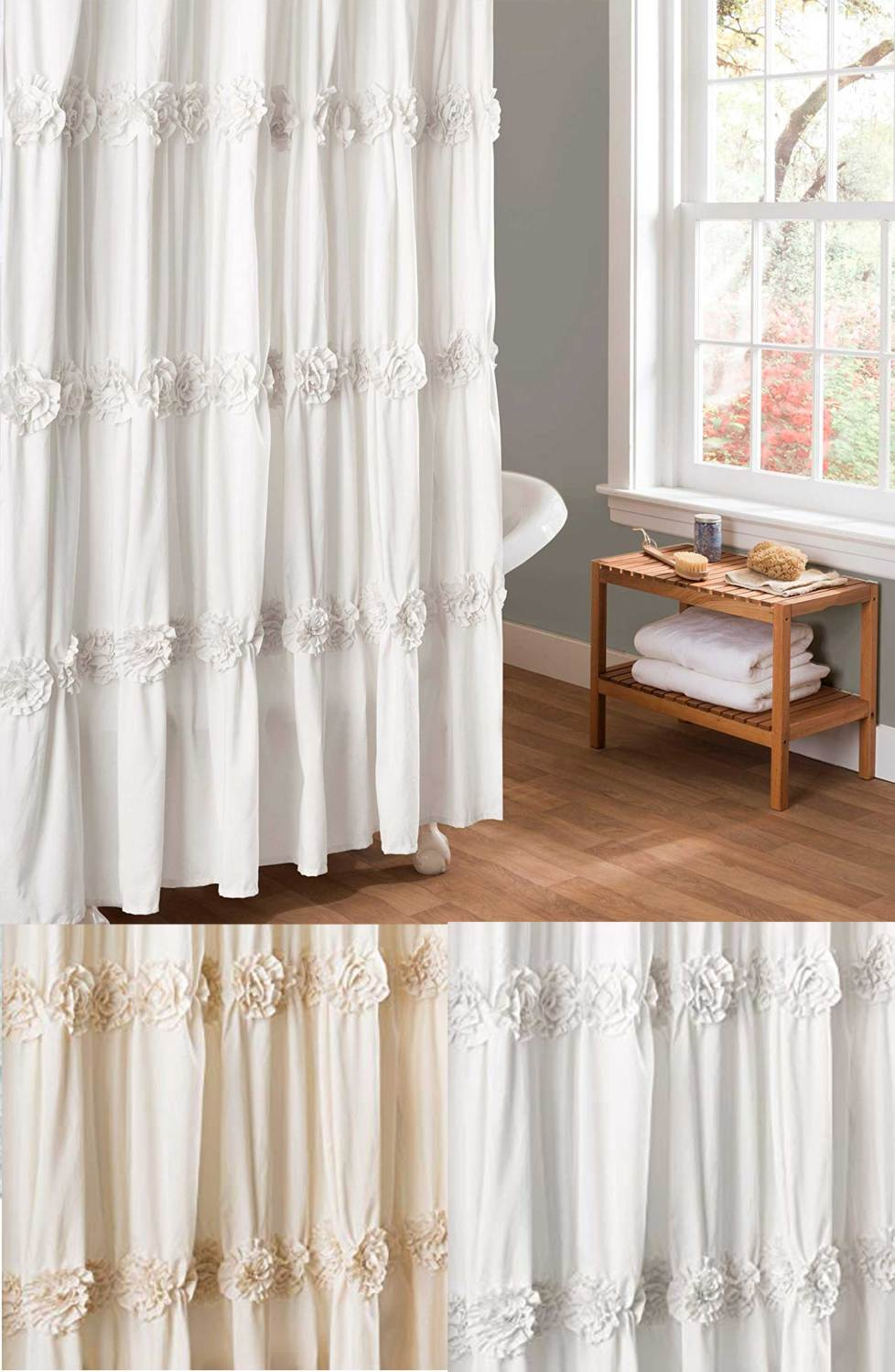 shaby chic curtain