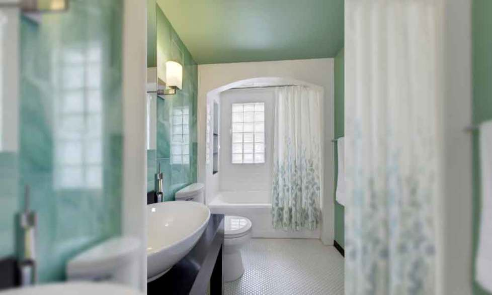 shower curtain ideas ceiling