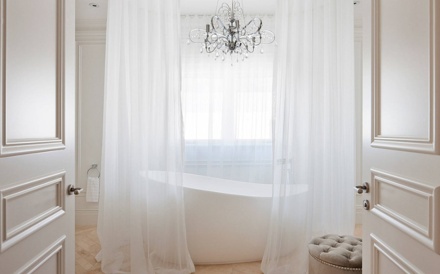 modern bathroom shower curtain ideas
