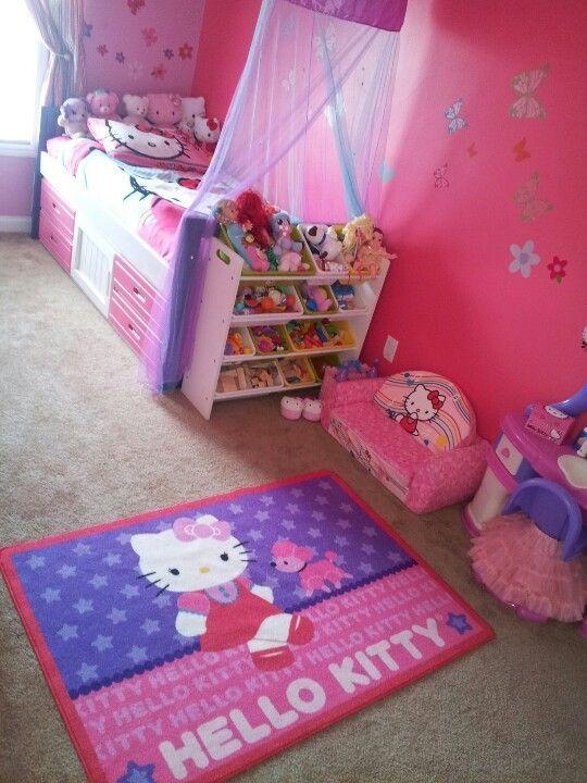 Charming Hello Kitty Bedroom Set