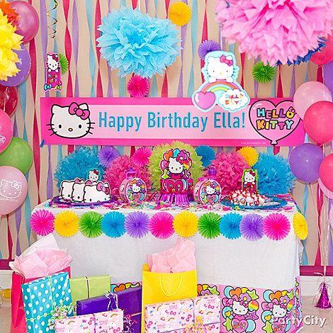 Hello Kitty Bday Supplies