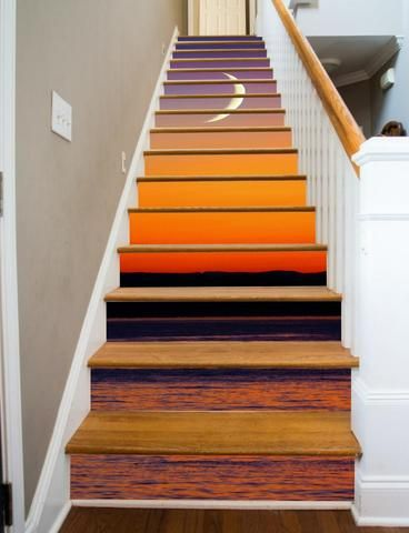 Images of Painted Stairs