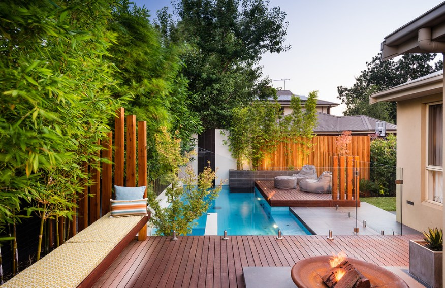 pool fence and privacy ideas