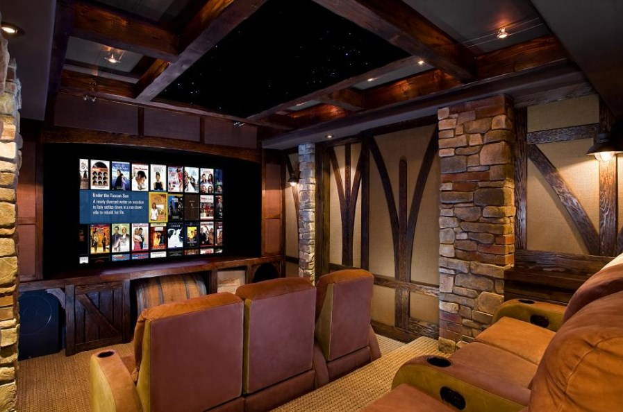 building home theater in basement