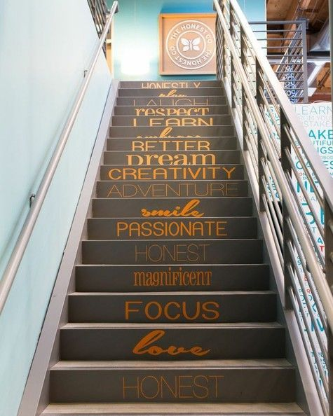 23 Cool and Creative Best Paint Staircase Ideas & Pictures