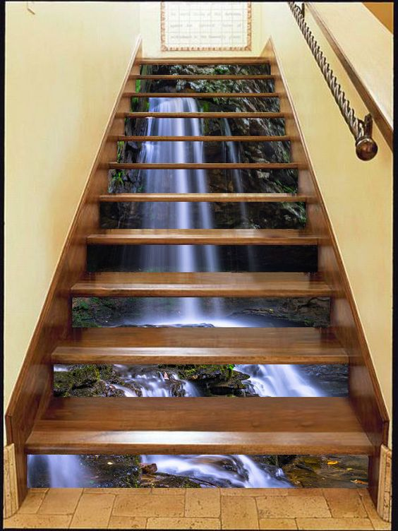 Staircase Wall Paint Ideas