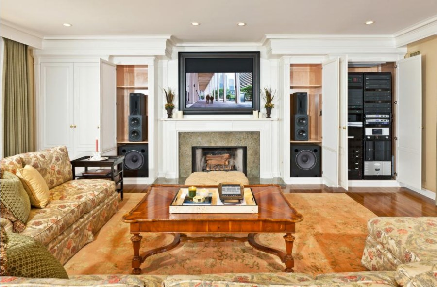 basement home theater low ceiling
