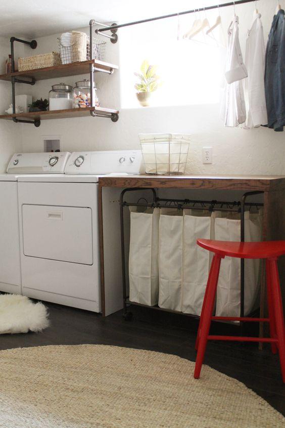 UsefulBasement Laundry Room Ideas