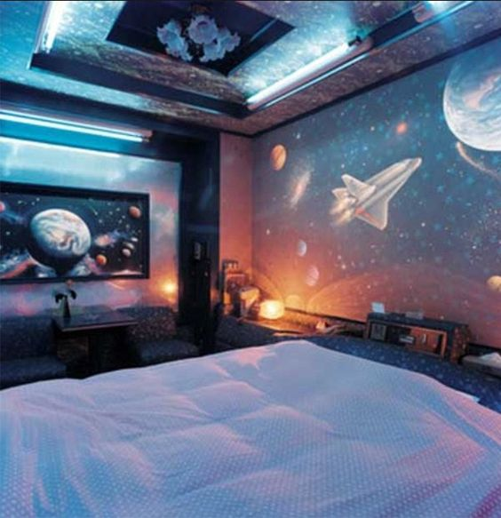 Spaceship Bedroom Ideas