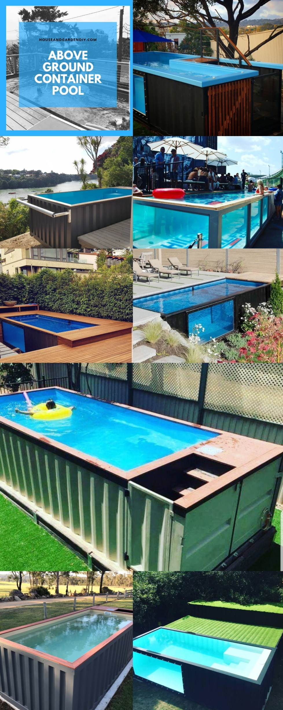 Above Ground Container Pool