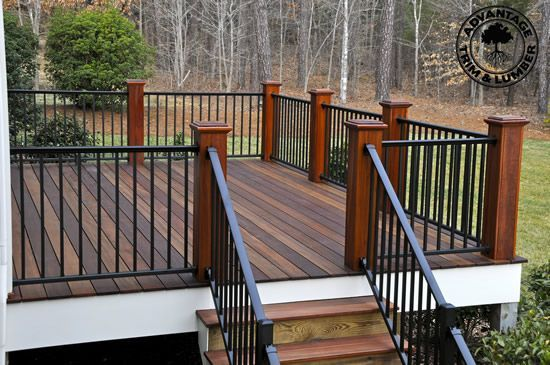 Metal Deck Railing porch