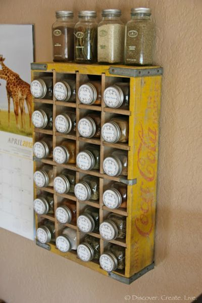 Unique Spice Rack