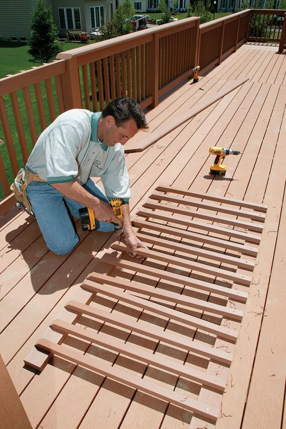 deck railing ideas how to
