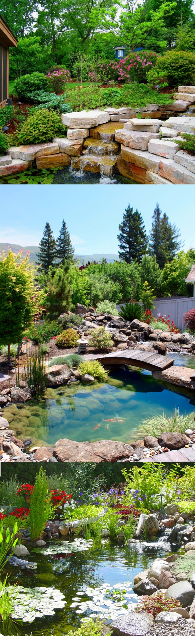 landscaping with rocks pictures