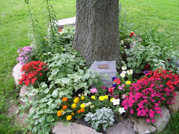 memorial garden ideas for baby
