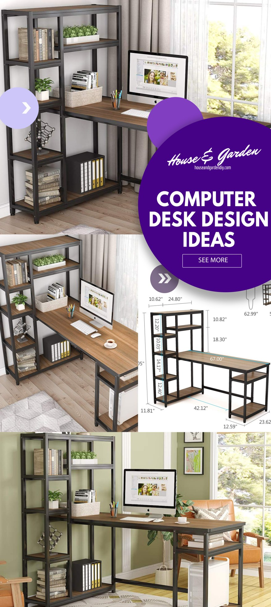 desk decorating ideas