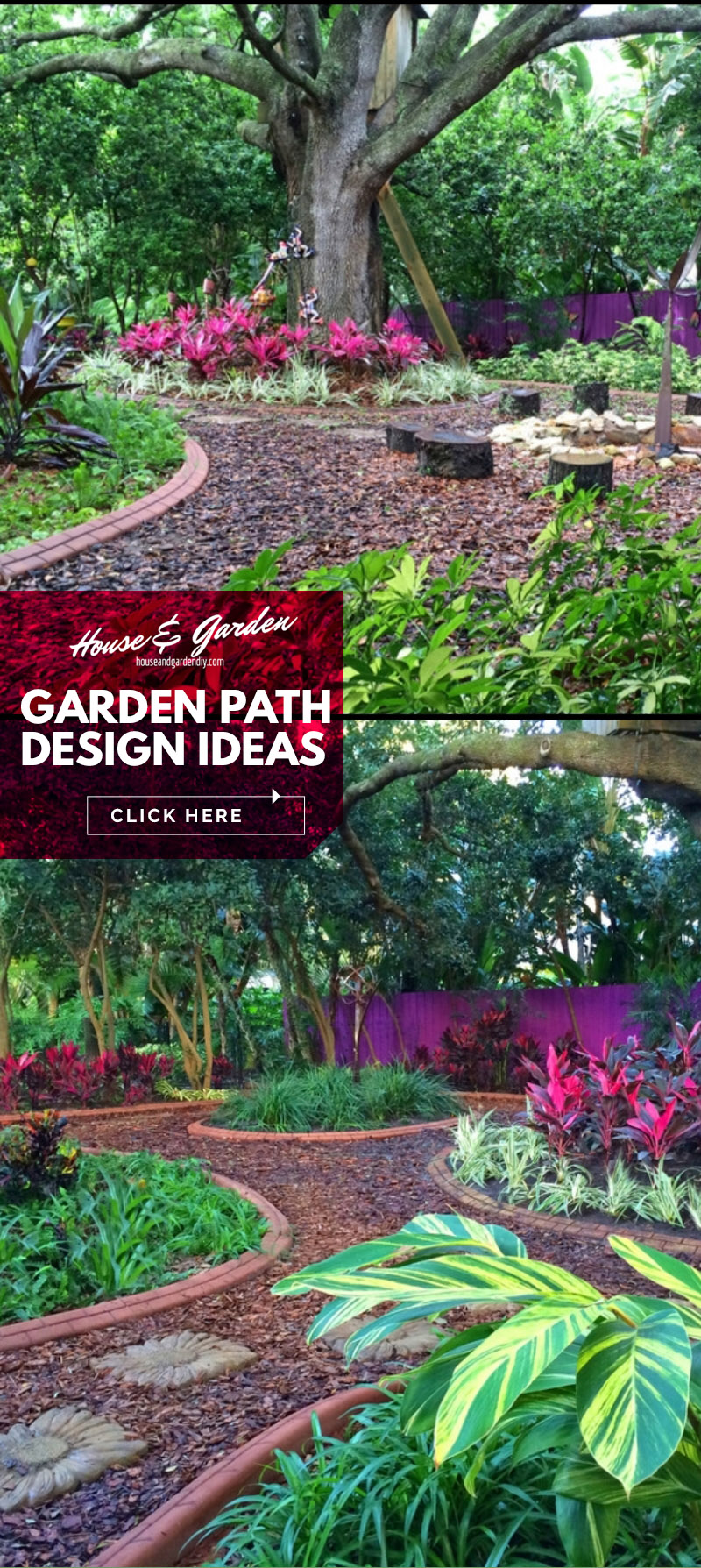 how to make a garden path with gravel