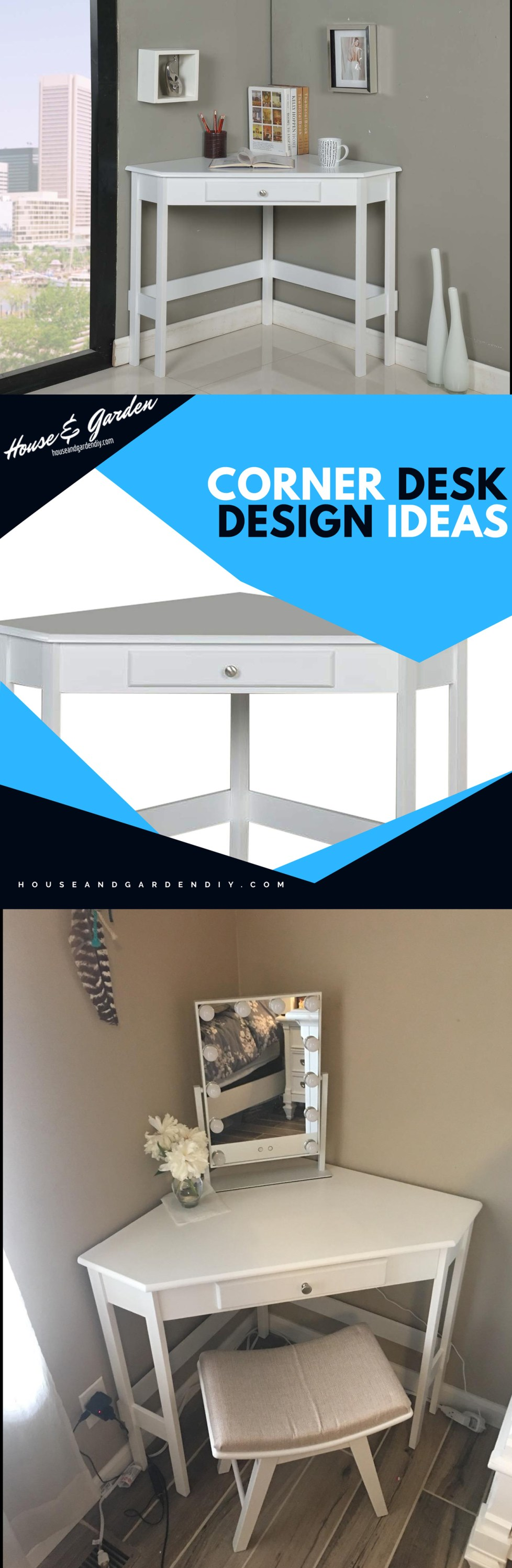 corner desk images