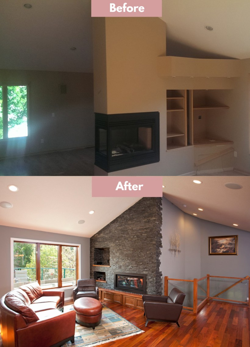 fireplace refacing