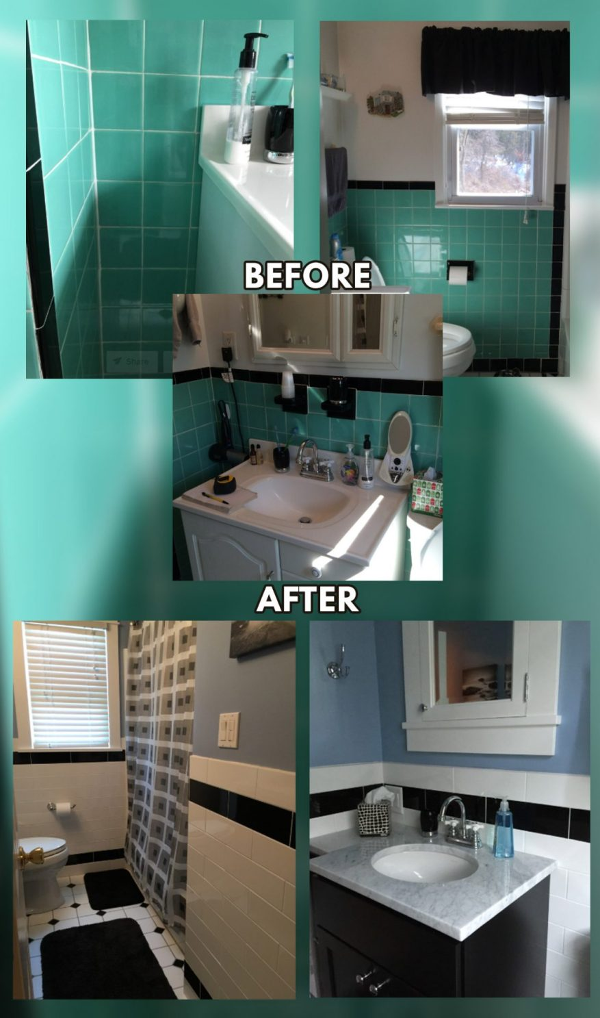 tiny bathroom remodel