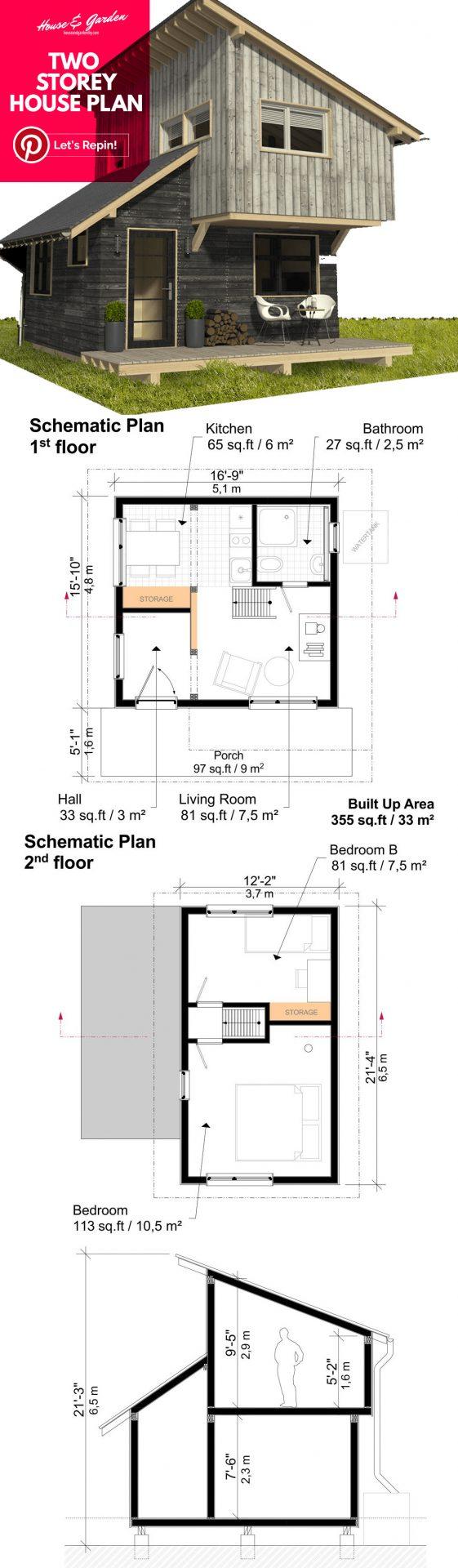 planos de casas pequeñas móviles