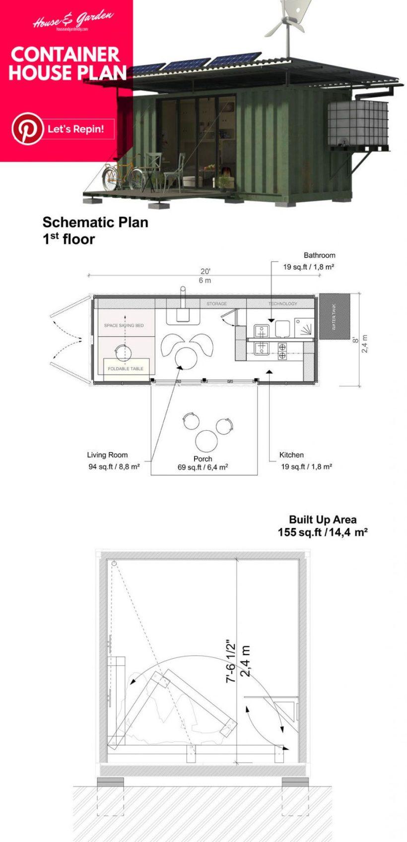 planos de casas pequeñas de tumbleweed