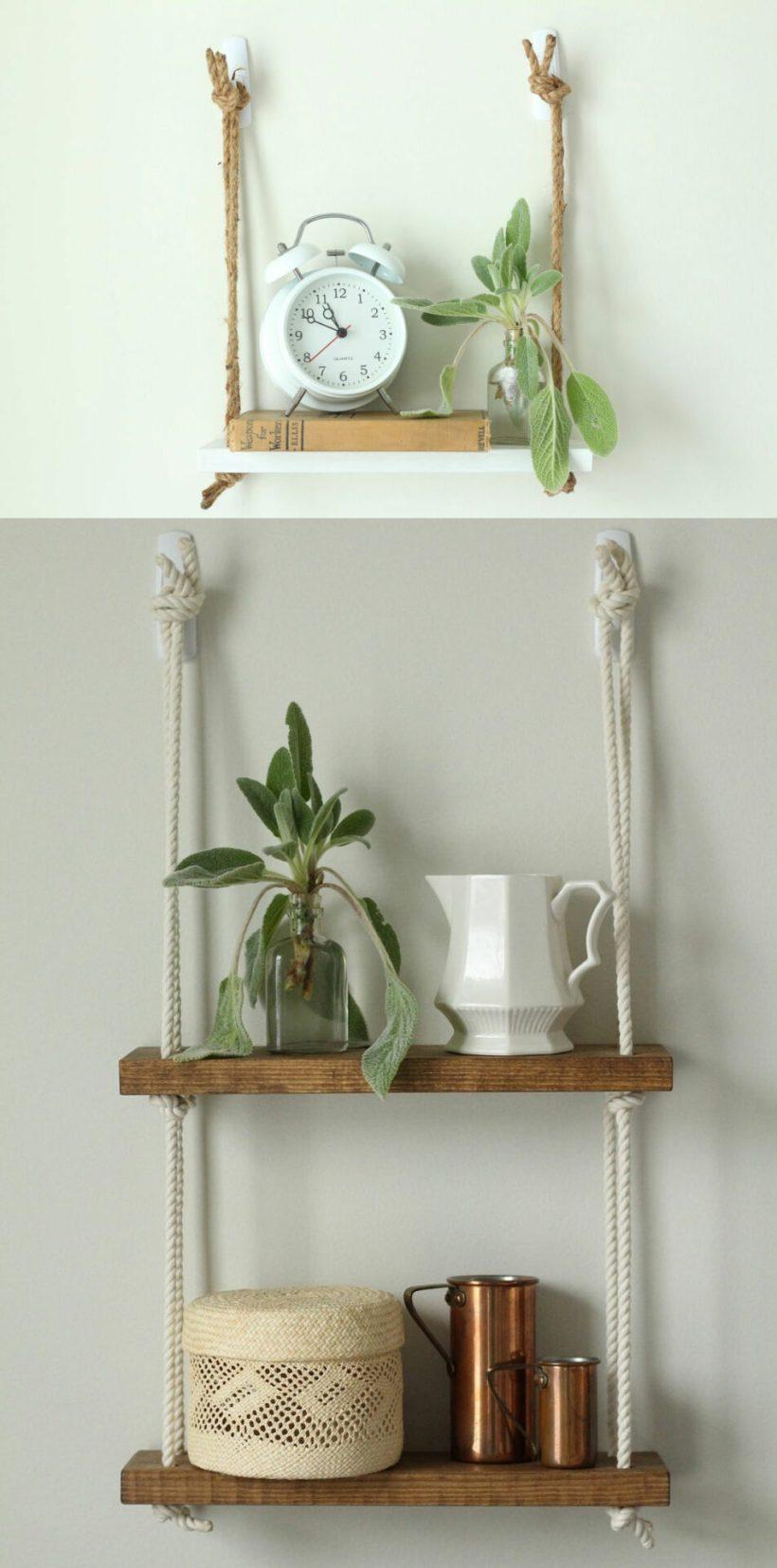 bedroom corner shelf unit