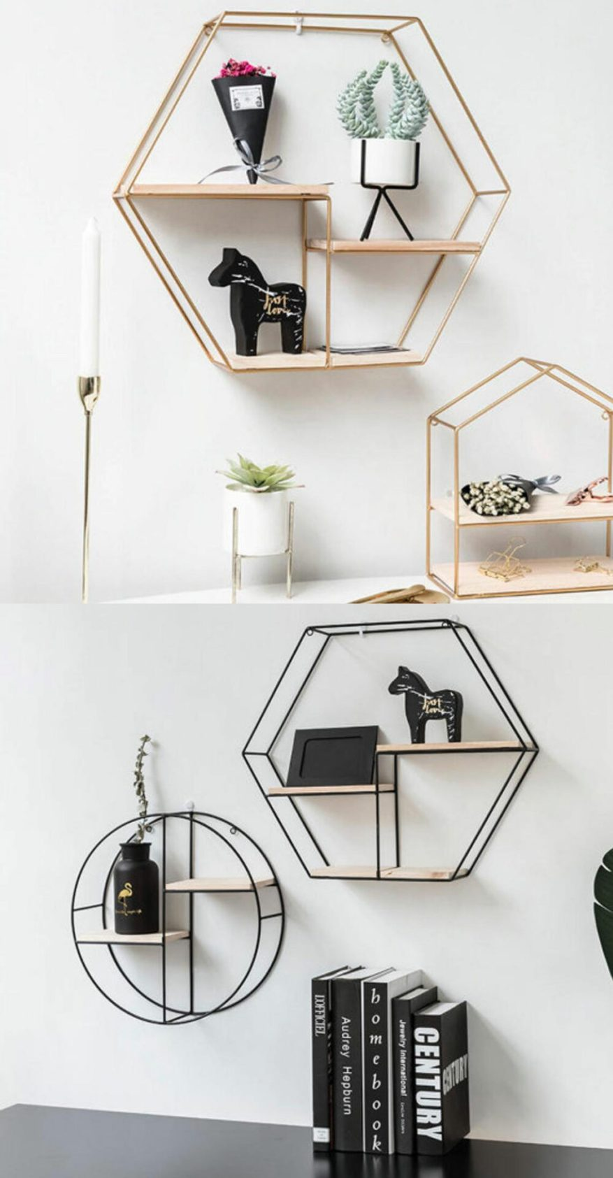 bedroom floor shelf