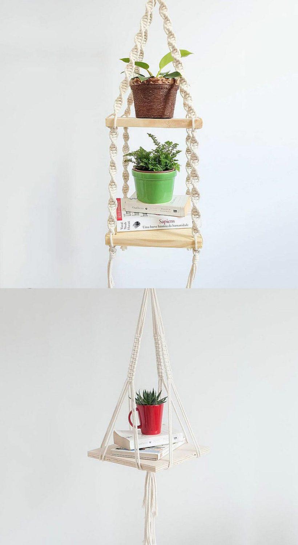 ideas de decoración de estantes de dormitorio
