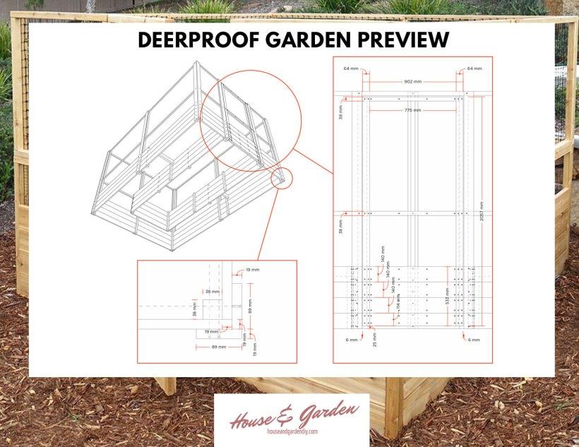DIY deerproof garden