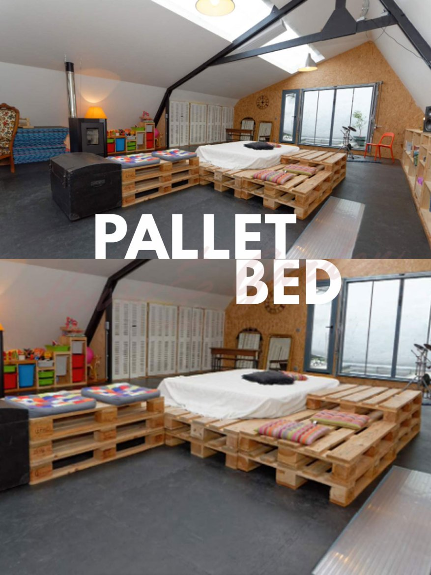 Pallet Bedroom Ideas on Pallet Bedroom Design  id=32999