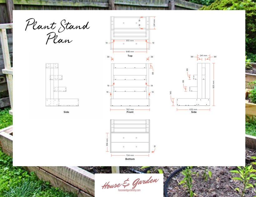 diy plant stand plans