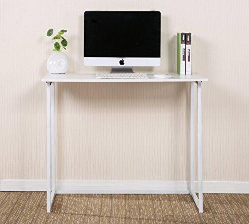 CherryTree Furniture Compact Foldable Computer Desk Laptop