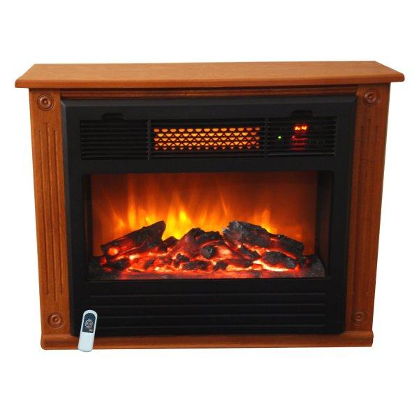 Lifesmart 1000 Square Foot Infrared Quartz Fireplace Houseandgardentech
