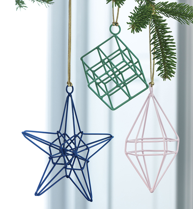 Wire Christmas Tree Ornaments