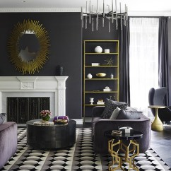 Black And White Themed Living Room Ideas Best Wall Color For With Dark Furniture 6 Expert Tips Decorating 1 Of 7
