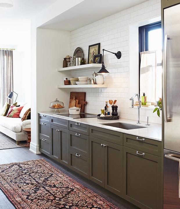 decorating kitchens mid range kitchen cabinets influencers open shelves