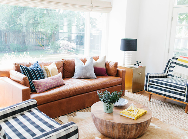tan leather couch living room modern paint colors for rooms find out what type of sofa is trending around the web 1 21