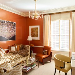 Orange Living Room Chair Designs With French Windows 7 From Classic To Contemporary Cullman Crown Nyc Brown Zebra Print Sofa And