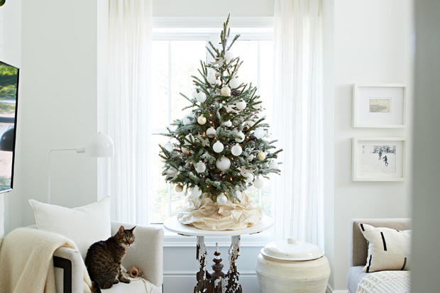 20 Petite Christmas Trees Perfect For Small Spaces House Home