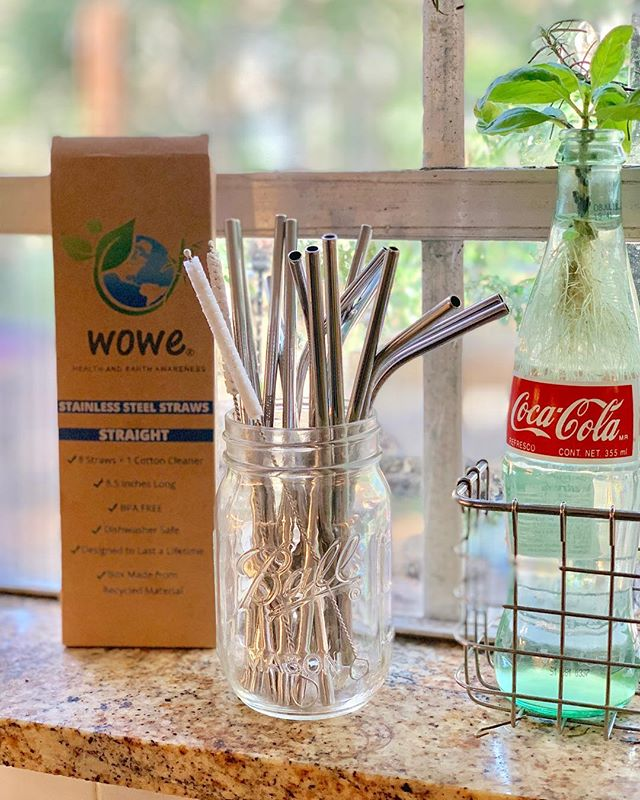 Switching To Stainless Steel Straws