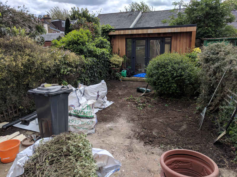 garden clearance london - garden furniture removals london