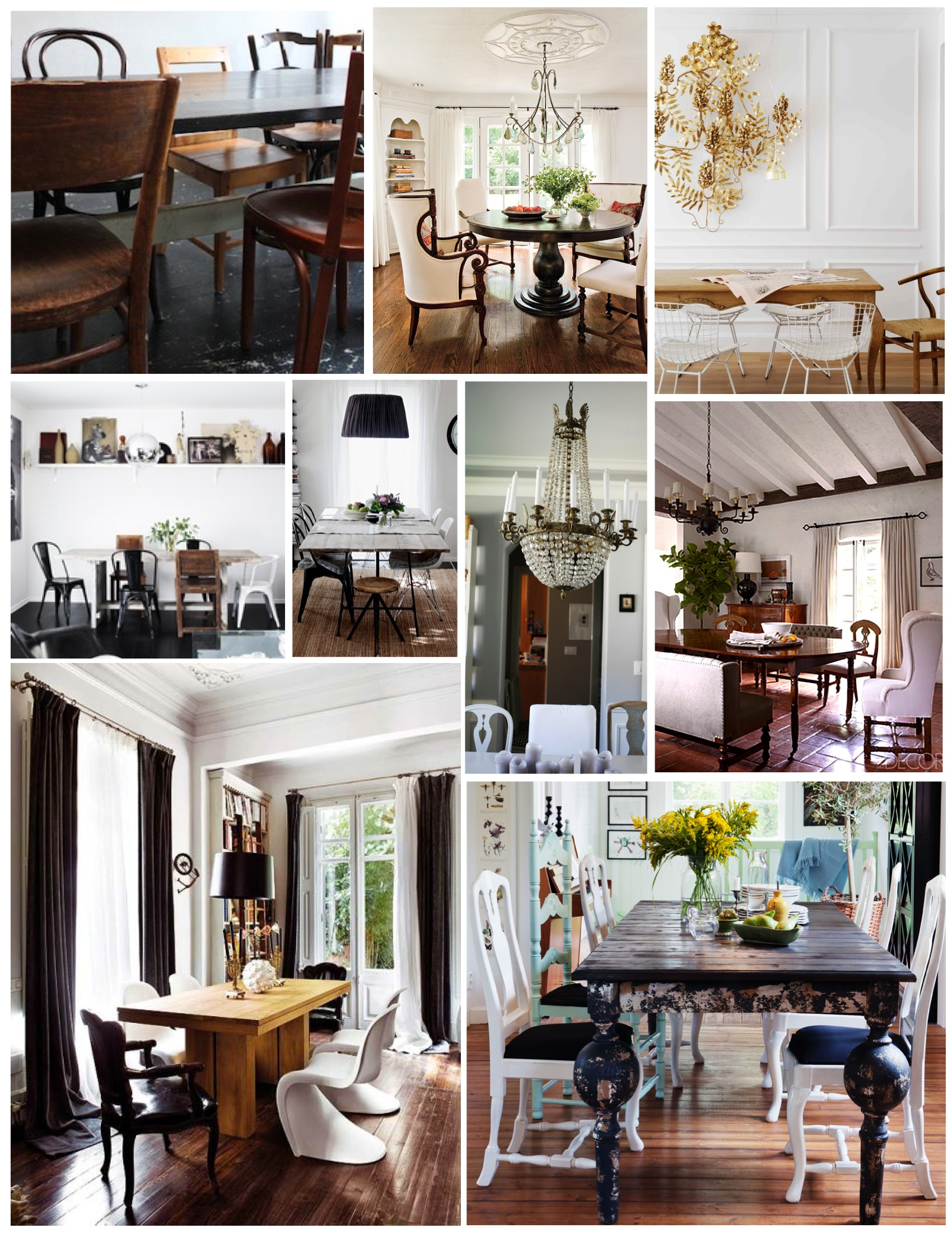 Mismatched Dining Chairs Mismatched Dining Chairs Understated Style