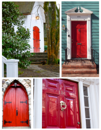 Exterior Color Inspirations: The Classic Brilliant & Bold ...